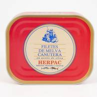 Filete de Melva Canutera A. de Oliva 120 gr - Herpac