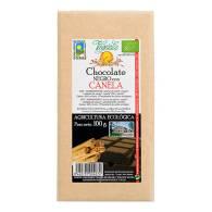 Chocolate Negro + Canela Bio 100 gr - Vegetalia