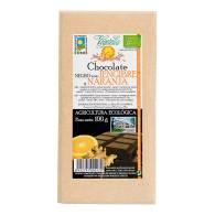 Chocolate Negro + Jengibre Naranja 100 gr - Vegetalia