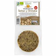 Hamburguesa Seitan Shiitake 160 gr - Vegetalia
