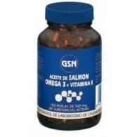 Aceite de Salmon 709 mg 180 Uni - G.S.N