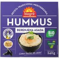 Hummus Berenjena Asada 240 gr - Biogra