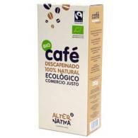 Cafe Descafeinado Molido Bio 250 gr - Alternativa