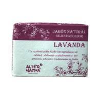 Jabon de Lavanda con Aceite de Coco 100 gr - Alternativa