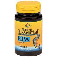 EPA Aceite de Pescado 1000 mg 30 Comp - Nature Essential