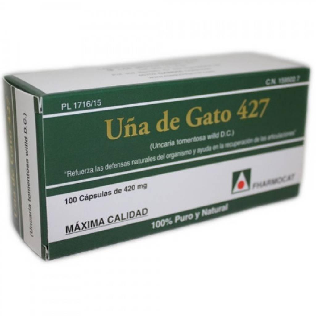 Uña de Gato 427 100 Cap - Fharmocat