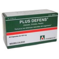 Plus Defens (Shiitake Maitake Reishi) 40 Cap - Fharmocat