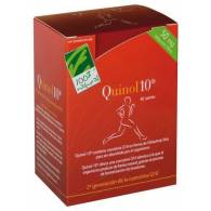 Quinol 10 60 Perlas 100 mg - 100% Natural