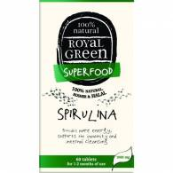 Spirulina 60 Comp - Royal Green