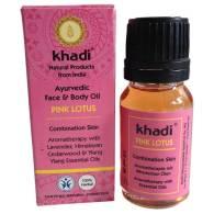 Aceite Facial Loto Rosado 10 ml - Khadi