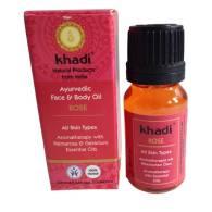 Aceite Facial y Corporal de Rosa 10 ml - Khadi